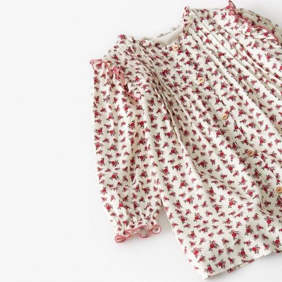 18-24M Floral Lined Viscose Dress